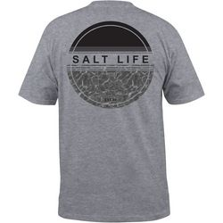 Salt Life Mens Calm Waters Heathered T-Shirt