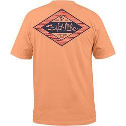 Salt Life Mens Hidden Agenda Pocket T-Shirt