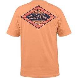 Salt Life Mens Hidden Agenda Pocket T-Shirt