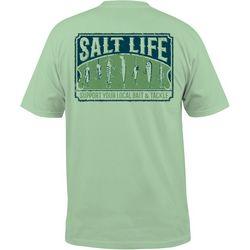 Salt Life Mens Bait & Tackle Chest Pocket T-Shirt