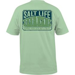 Salt Life Mens Bait & Tackle Chest Pocket T-Shirt