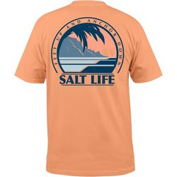 Salt Life Mens Palm Sunset T-Shirt