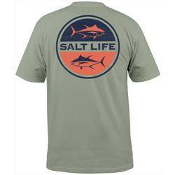 Salt Life Mens Seeing Tuna Pocket T-Shirt