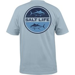 Salt Life Mens Seeing Tuna Pocket T-Shirt