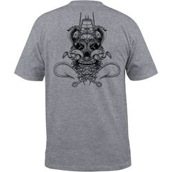 Salt Life Mens Ghost Ship Pocket Heathered T-Shirt