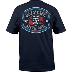 Salt Life Mens Dive Bar Pocket T-Shirt