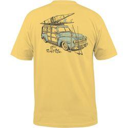 Salt Life Mens Destination Salt Short Sleeve Pocket T-Shirt