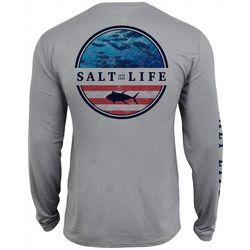 Salt Life Mens Respect Performance Long Sleeve T-Shirt