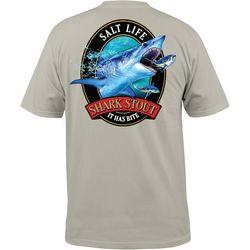 Salt Life Mens Shark Stout Short Sleeve T-Shirt