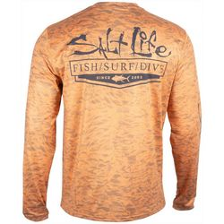 Salt Life Mens Ocean Quest Performance Long Sleeve T-Shirt
