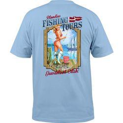 Salt Life Mens Blondie Tours T-Shirt