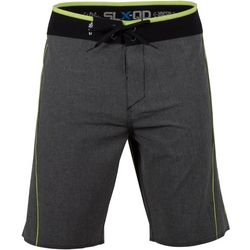 Salt Life Mens Static Neon Performance Boardshorts