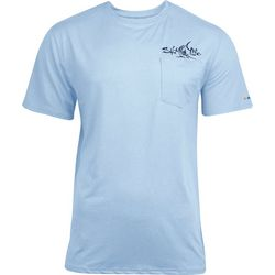Salt Life Mens Captain SLX UVapor Short Sleeve Shirt