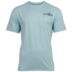Salt Life Mens Captain SLX Short Sleeve Shirt