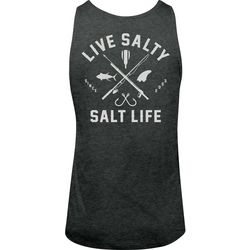 Salt Life Mens Live Salty Tank Top