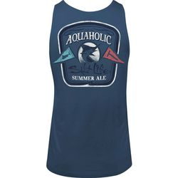 Salt Life Mens Aquaholic Flags Tank Top