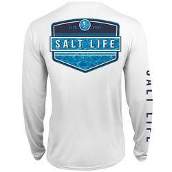Salt Life Mens Calm Waters SLX UVapor T-Shirt