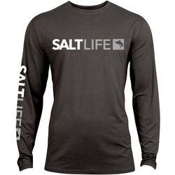 Salt Life Mens SLX UVapor Modern Marlin Long Sleeve T-Shirt