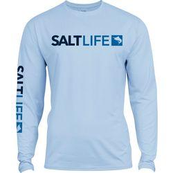 Salt Life Mens SLX UVapor Modern Marlin T-Shirt