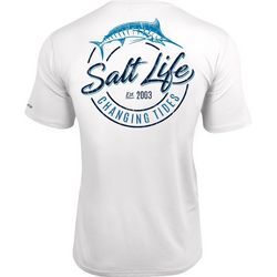 Salt Life Mens Changing Tides SLX UVapor T-Shirt