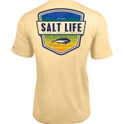 Salt Life Mens UVapor Chest Pocket T-Shirt