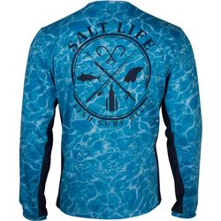Salt Life Mens Calm Waters Performance Long Sleeve T-Shirt