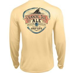 Salt Life Mens Chasing Tail Performance Long Sleeve T-Shirt
