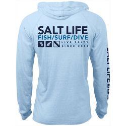 Salt Life Mens Demand Performance Hoodie
