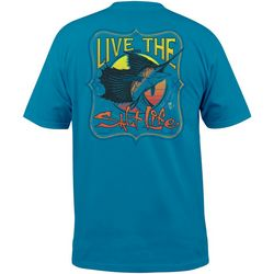 Salt Life Mens Sailfish Delight Short Sleeve T-Shirt