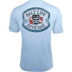 Salt Life Mens Dive Bar SLX UVapor Pocket T-Shirt