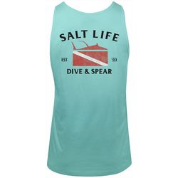 Salt Life Mens Dive & Spear Tank Top