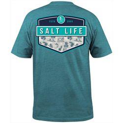 Salt Life Mens Island Breeze Badge Short Sleeve T-Shirt