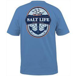 Salt Life Mens Rusty Kedge Short Sleeve T-Shirt