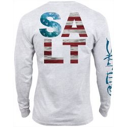 Salt Life Mens American Salt Long Sleeve T-Shirt