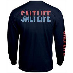 Salt Life Mens Keep It Real Long Sleeve T-Shirt