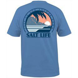 Salt Life Mens Palm Sunset T-Shirt