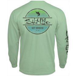 Salt Life Mens Marlin Get Hooked Long Sleeve T-Shirt