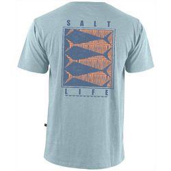Salt Life Mens Optic Tails Short Sleeve T-Shirt