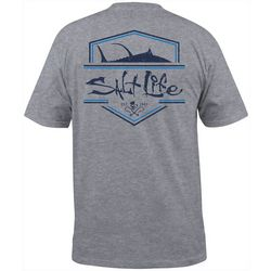Salt Life Mens Official Heathered Pocket T-Shirt