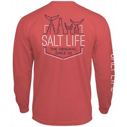 Salt Life Mens Neon Tails Long Sleeve T-Shirt