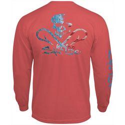 Salt Life Mens Ameriskull Long Sleeve T-Shirt