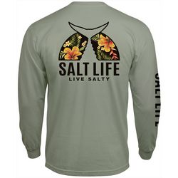 Salt Life Mens Tropical Tails Long Sleeve T-Shirt