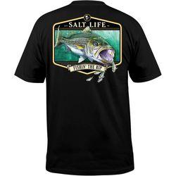 Salt Life Mens Fishing the Rip T-Shirt