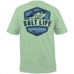 Salt Life Mens Tuna Fillet Pocket Short Sleeve T-Shirt