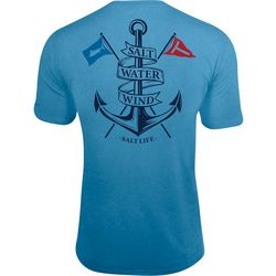 6242492b4 Salt Life Mens Salt Water Wind SLX UVapor Pocket T-Shirt