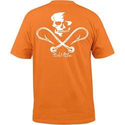 Salt Life Mens Skull & Hooks Short Sleeve T-Shirt
