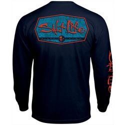 Salt Life Mens Water Fix Long Sleeve T-Shirt