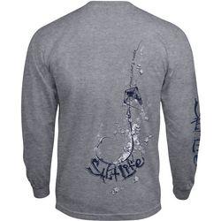 Salt Life Mens Hooked Up Long Sleeve T-Shirt