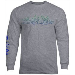 Salt Life Mens Glow Long Sleeve T-Shirt