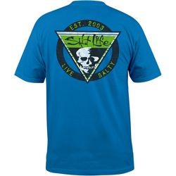 Salt Life Mens Diamond Skull Short Sleeve T-Shirt